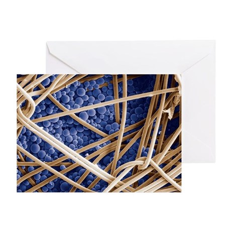 Phase change material, SEM - Greeting Cards (Pk of