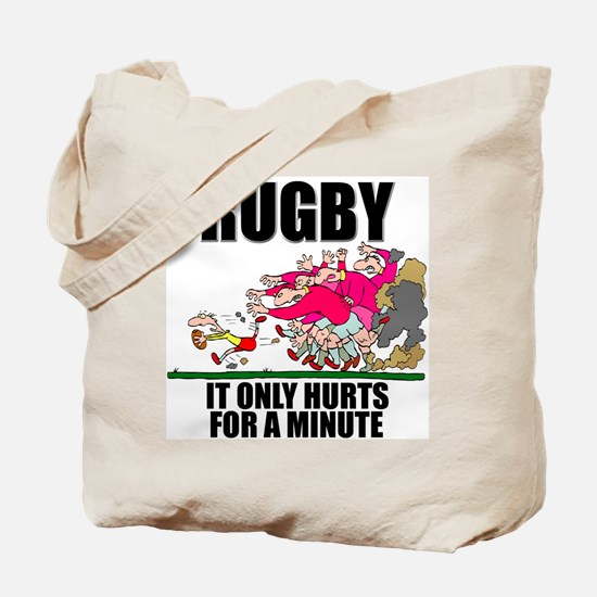 It Only Hurts Tote Bag