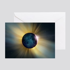 Total solar eclipse - Greeting Cards (Pk of 10)
