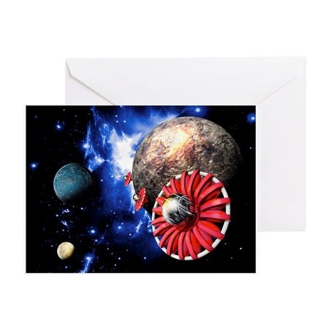 Alien SETI project - Greeting Cards (Pk of 10)