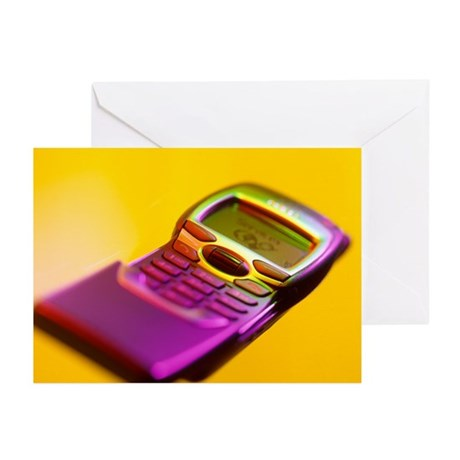 WAP mobile telephone - Greeting Cards (Pk of 10)