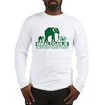 Mwaluganje Elephant Sanctuary logo Long Sleeve T-S