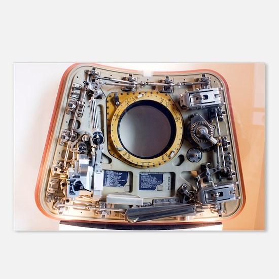 Apollo command module hatch - Postcards (Pk of 8)