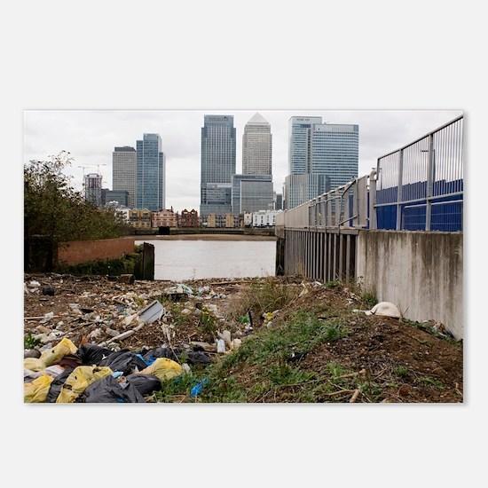 Dumped rubbish - Postcards (Pk of 8)