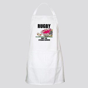 Only The Strong Rugby BBQ Apron