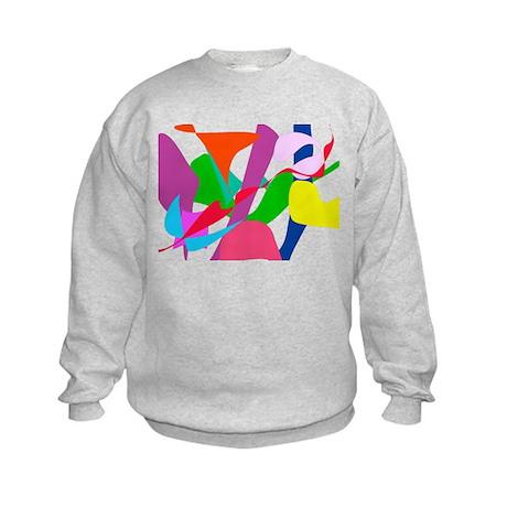 Colorful Abstract Wind Kids Sweatshirt