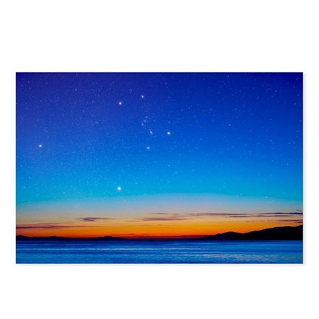 Orion over the Georgia Strait, Canada - Postcards