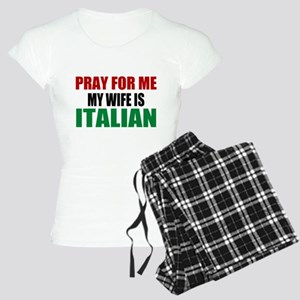 Pray Wife Italian Women's Light Pajamas