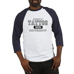Tattoo University Baseball Jersey