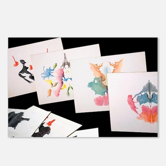 Rorshach Inkblot Test - Postcards (Pk of 8)