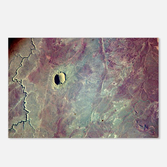 Barringer Crater, Arizona - Postcards (Pk of 8)