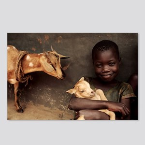 Child holding a kid - Postcards (Pk of 8)