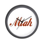 Miah name Wall Clock