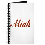 Miah name Journal