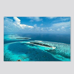 Coral islands - Postcards (Pk of 8)