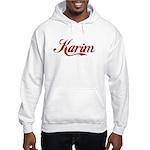 Karim name Hooded Sweatshirt