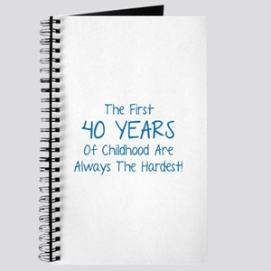 The First 40 Years Of Childhood Journal
