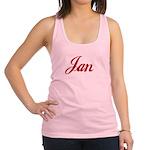 Jan name Racerback Tank Top