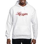 Hassan name Hooded Sweatshirt