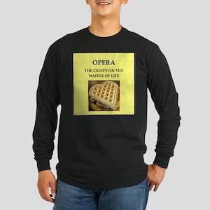 opera Long Sleeve Dark T-Shirt