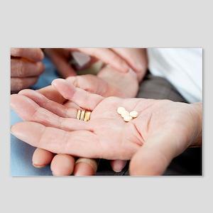 Medical pills - Postcards (Pk of 8)