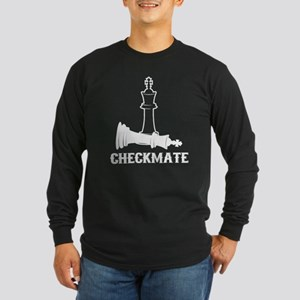 CheckMate, Chess Pawn, Chess Long Sleeve T-Shirt