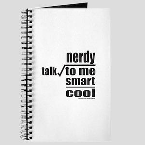 TALK NERDY TO ME Journal