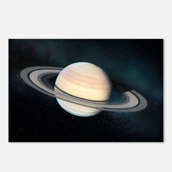 Saturn, artwork - Postcards (Pk of 8)