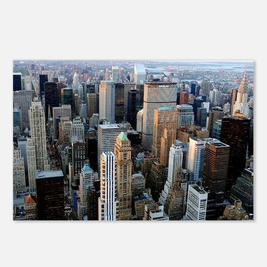 Skyscrapers, Manhattan, New York - Postcards (Pk o