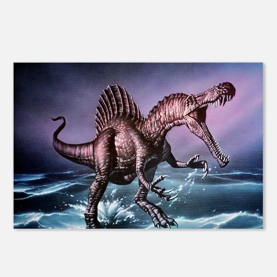 Spinosaurus dinosaur - Postcards (Pk of 8)
