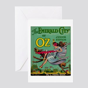 The Emerald City of Oz Greeting Card