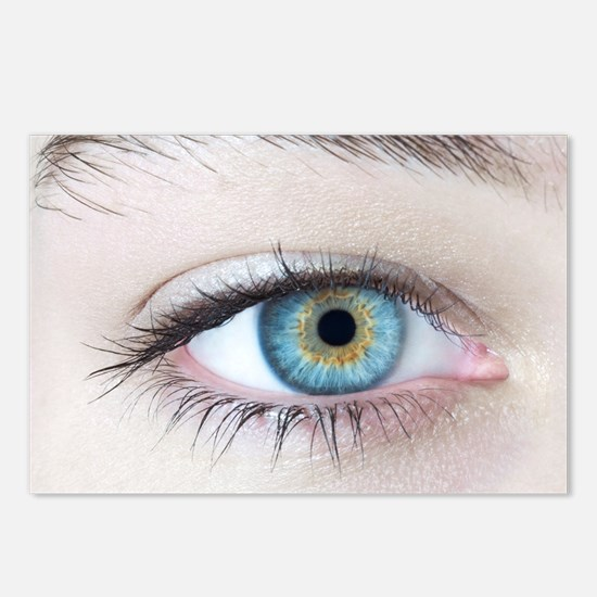 Woman's eye - Postcards (Pk of 8)