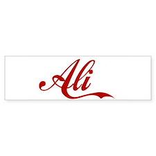 Ali name Sticker (Bumper)