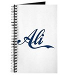 Ali name (Blue) Journal