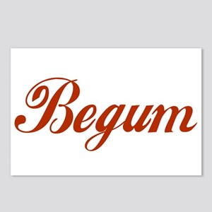 Begum name Postcards (Package of 8)