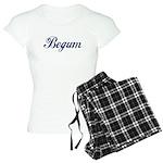 Begum name (Blue) Women's Light Pajamas