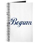 Begum name (Blue) Journal