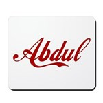 Abdul name Mousepad