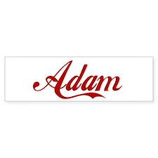 Adam name Sticker (Bumper)