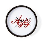 Aziz name Wall Clock