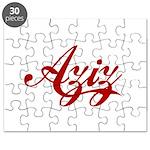 Aziz name Puzzle