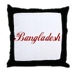 Bangladesh Throw Pillow