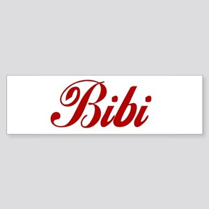 Bibi name Sticker (Bumper)