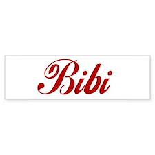 Bibi name Sticker (Bumper)