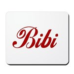 Bibi name Mousepad