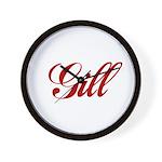 Gill name Wall Clock
