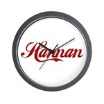 Hannan name Wall Clock