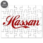 Hassan name Puzzle
