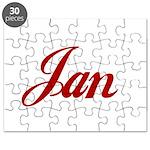Jan name Puzzle