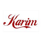 Karim name 35x21 Wall Decal